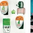 Van de schilderijen van Ted Parker naar de collages van Gino and The Garlic Myth om te eindigen bij het abstracte en organische graphic designs...