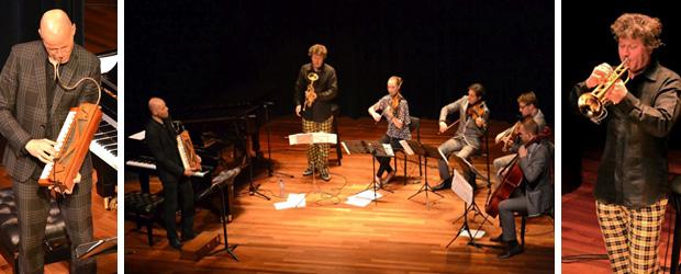 Erik Vloeimans, Martin Fondse en Matangi strijkkwartet in De Doelen