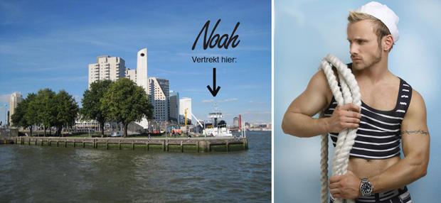 Noah Floating Festival op de Maas