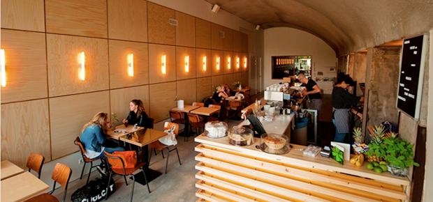 Lokaal Espresso in de Hofbogen Rotterdam