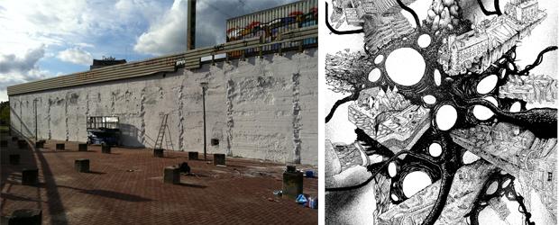 Opperclaes Extra Large te beschilderen muur