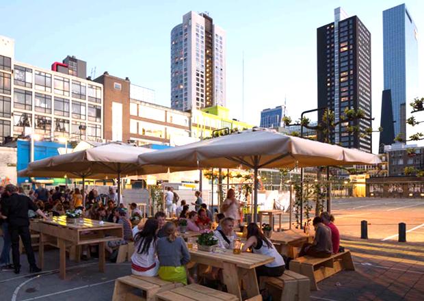 Biergarten en Bar Garden worden buren