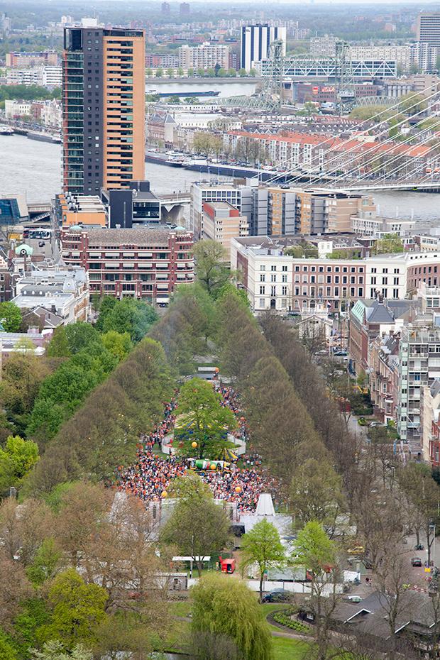 Royaal feesten in Rotterdam