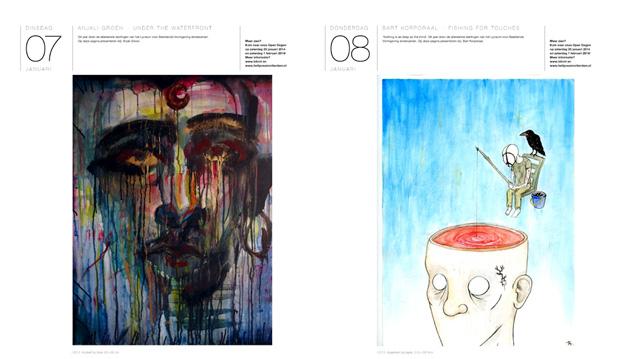 De Grote Rotterdamse Kunstkalender 2014