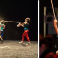 Fluiten achter een lemen masker In het internationale theaterfestival van Rotterdam, De Keuze, speelde woensdagavond het Argentijnse theaterstuk 'África' en het Duitse zangtheater 'Human Requiem'....